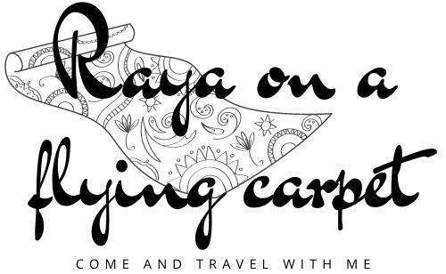 Raya on a flying carpet