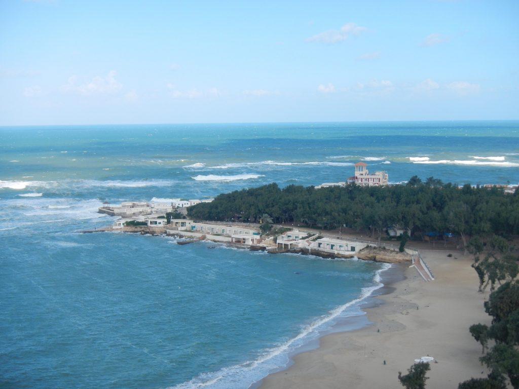 Beach of Alexandria