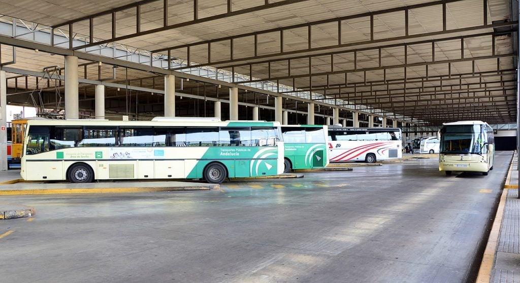 Busstation in Seville