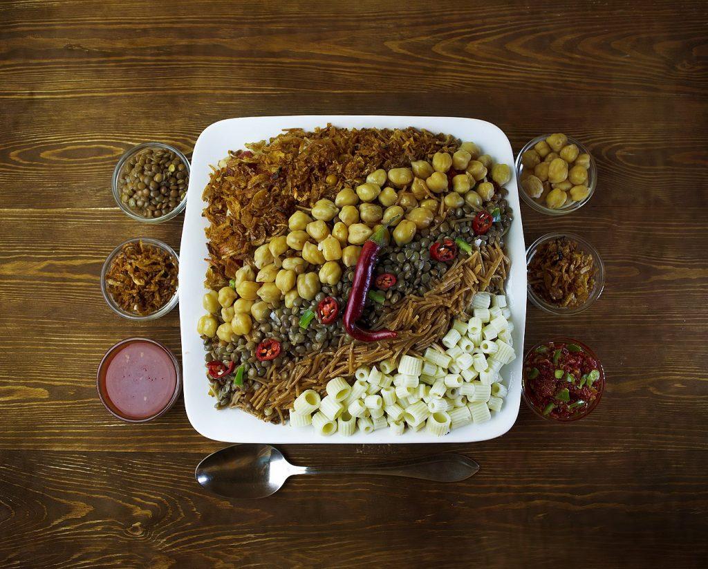 Egyptian food kushary
