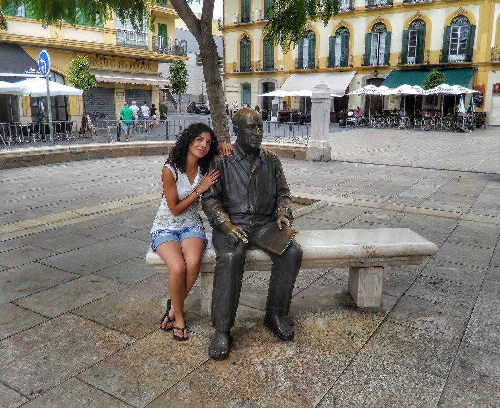 Picasso statue